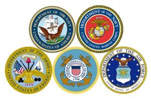 US Armed Services Emblems